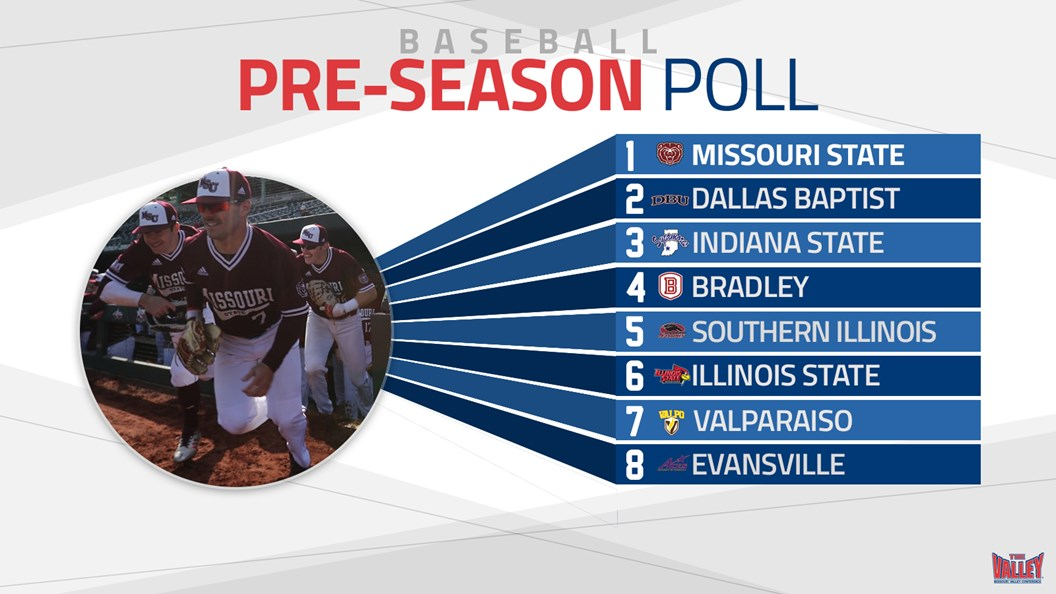 Coaches Select Missouri State as MVC Baseball Favorite
