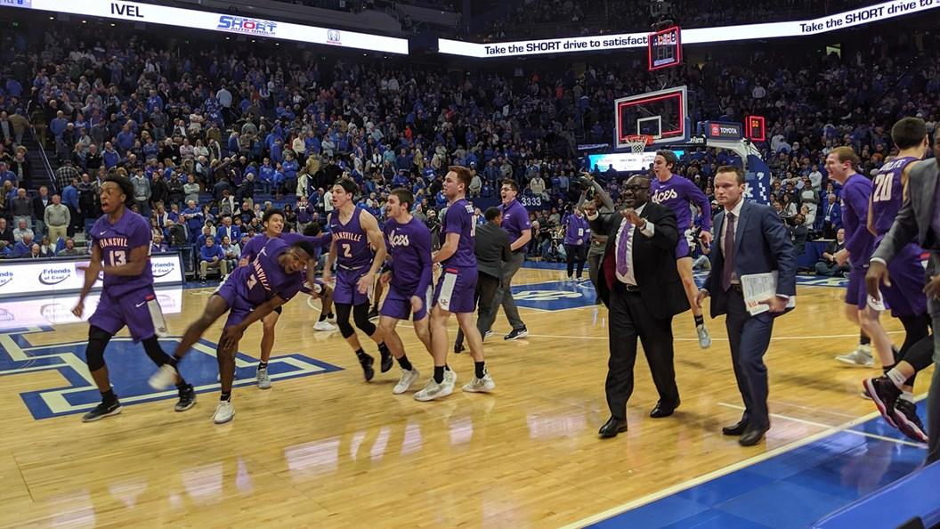 Evansville Defeats Top Ranked Kentucky At Rupp Arena
